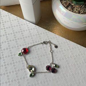 Swarovski Bracelet - Apple, Lemon, Cherries